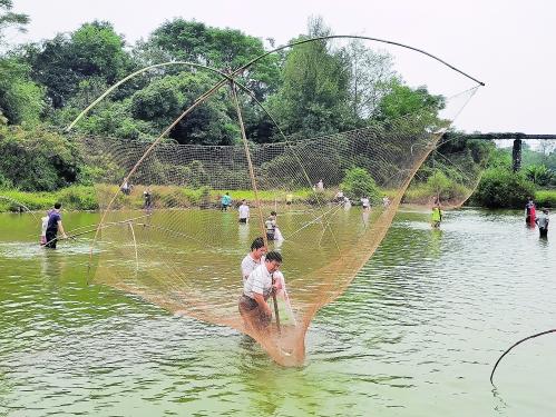 国庆期间 泉州上演了一场流传千年的钓鱼