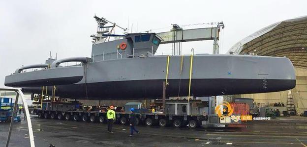 美军最新研发的无人舰艇