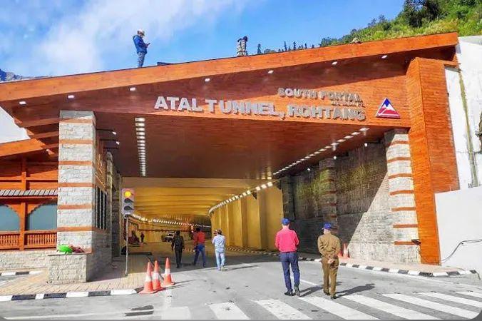 阿塔尔隧道进口(图片泉源:收集)