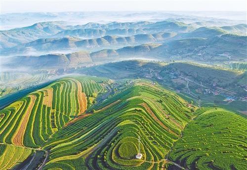 宁夏彭阳县小流域治理调查:六个美丽板块 其中最美丽的是彭阳