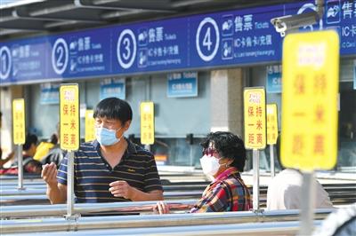 首都机场大兴机场今起迎返程高峰图片