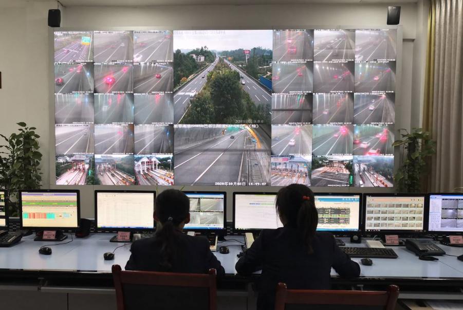 今天,重庆高速预计将迎返程小高峰图片
