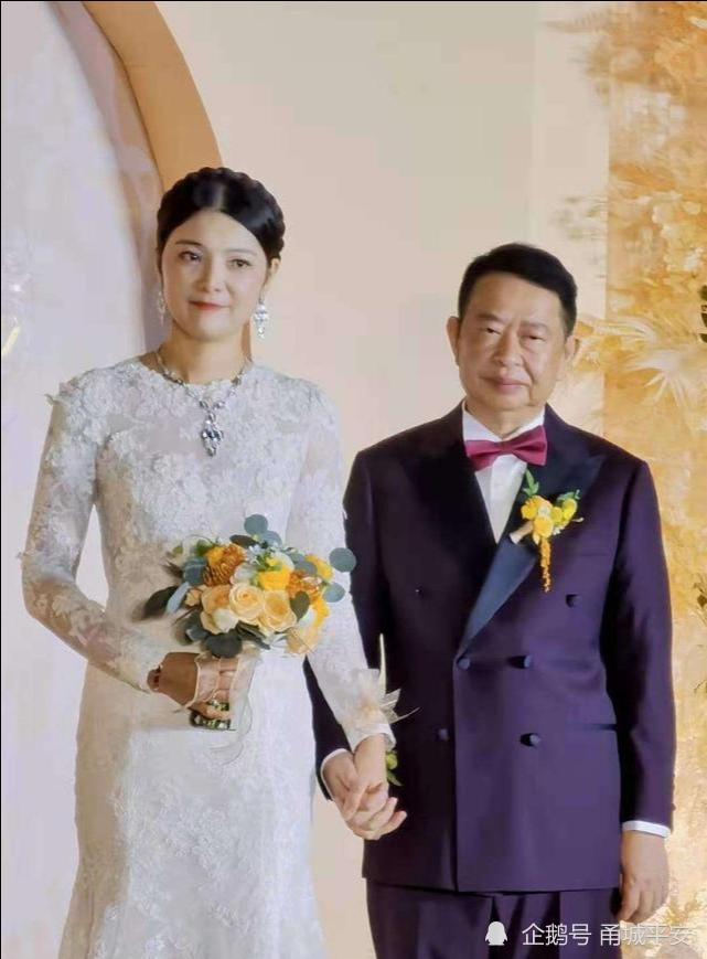 中国最大金矿老板63岁董事长娶38岁妻子 新娘:相信爱情