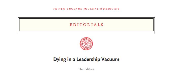 打破200多年传统 从不谈论政治的顶级医学期刊发声了