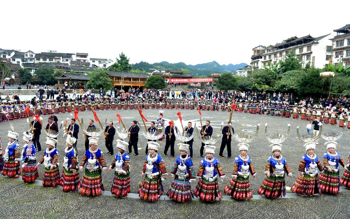 """贵州雷山""""十一""""黄金周旅游收入3.17亿元"""