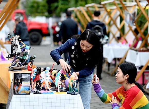九龙坡黄桷坪艺术市场国