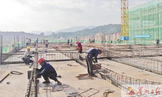 加快仙游电子信息产业园规模化厂房建设 力争元旦前投入使用