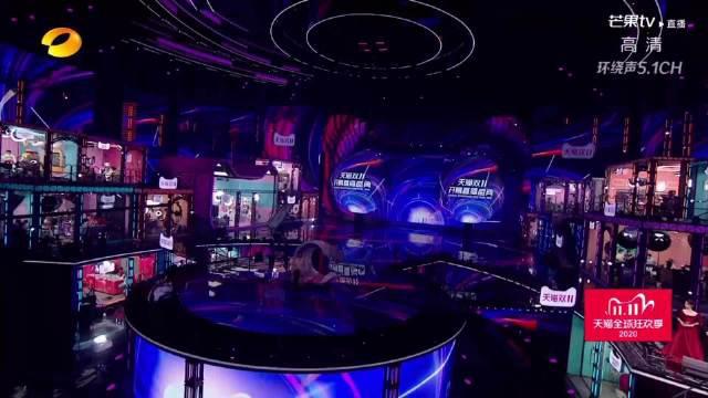 湖南卫视镜头下的周笔畅,实力展示live演唱水平,唱歌水平超稳!