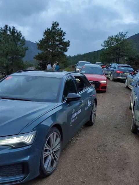 先锋派奥迪A6 Avant车队和探索家奥迪A6 allroad车队会师