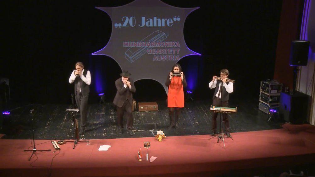 奥地利口琴四重奏: 单簧管波尔卡 《单簧管波尔卡》