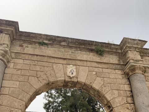 游览 塞浦路斯 法马古斯塔 萨拉米斯老城