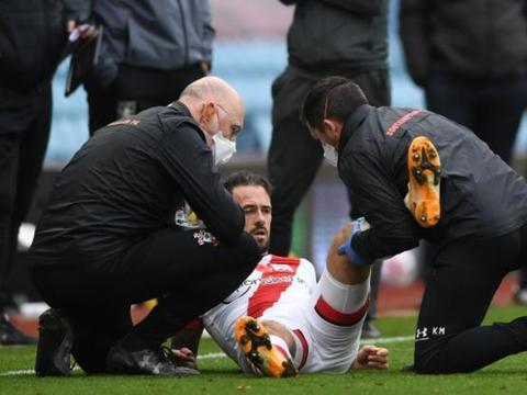 多家媒体:南安普顿对英斯的膝盖伤势表示乐观,并无大碍