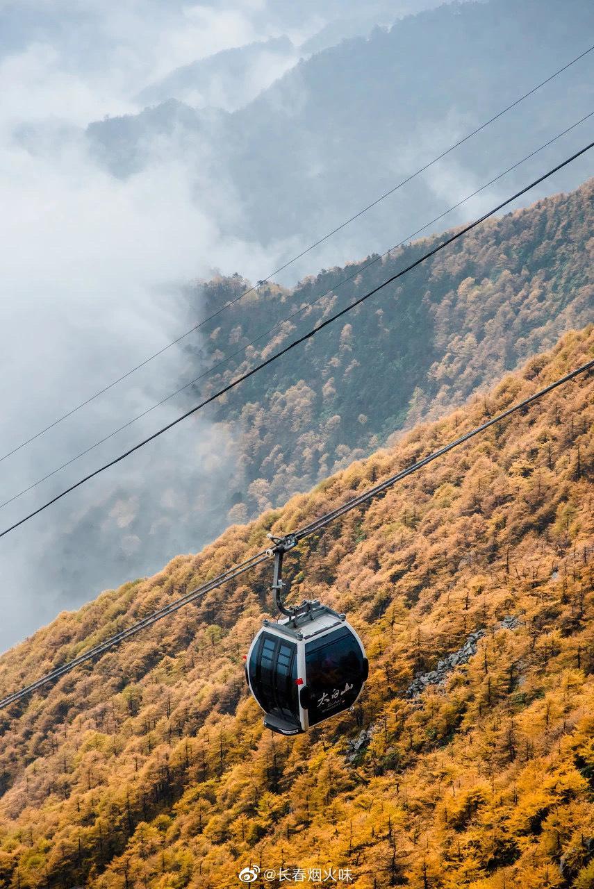 秋日的太白山,有着丝毫不输米亚罗彩林的气质