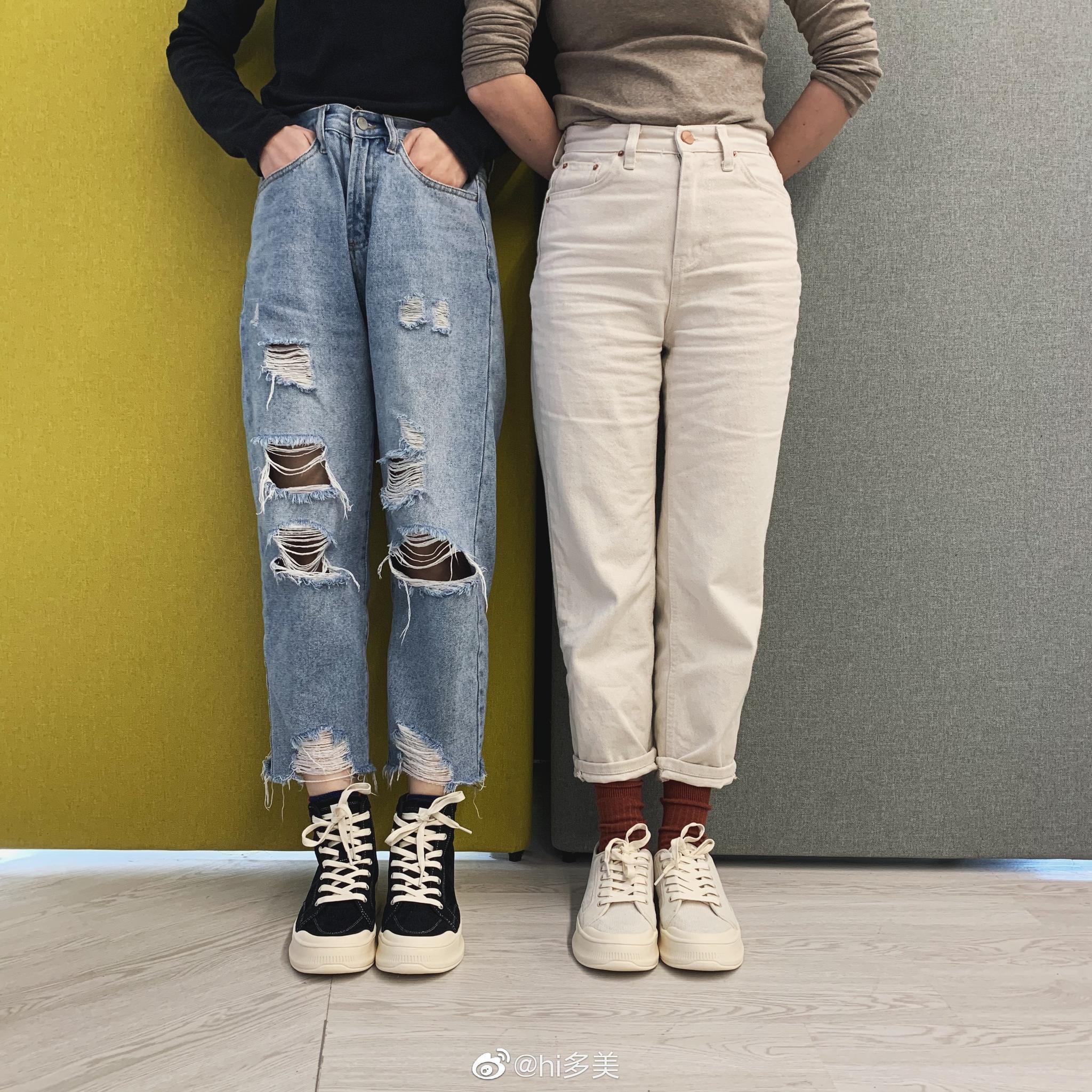 蕉下的鞋也很好穿,高帮低帮两种款式可选……