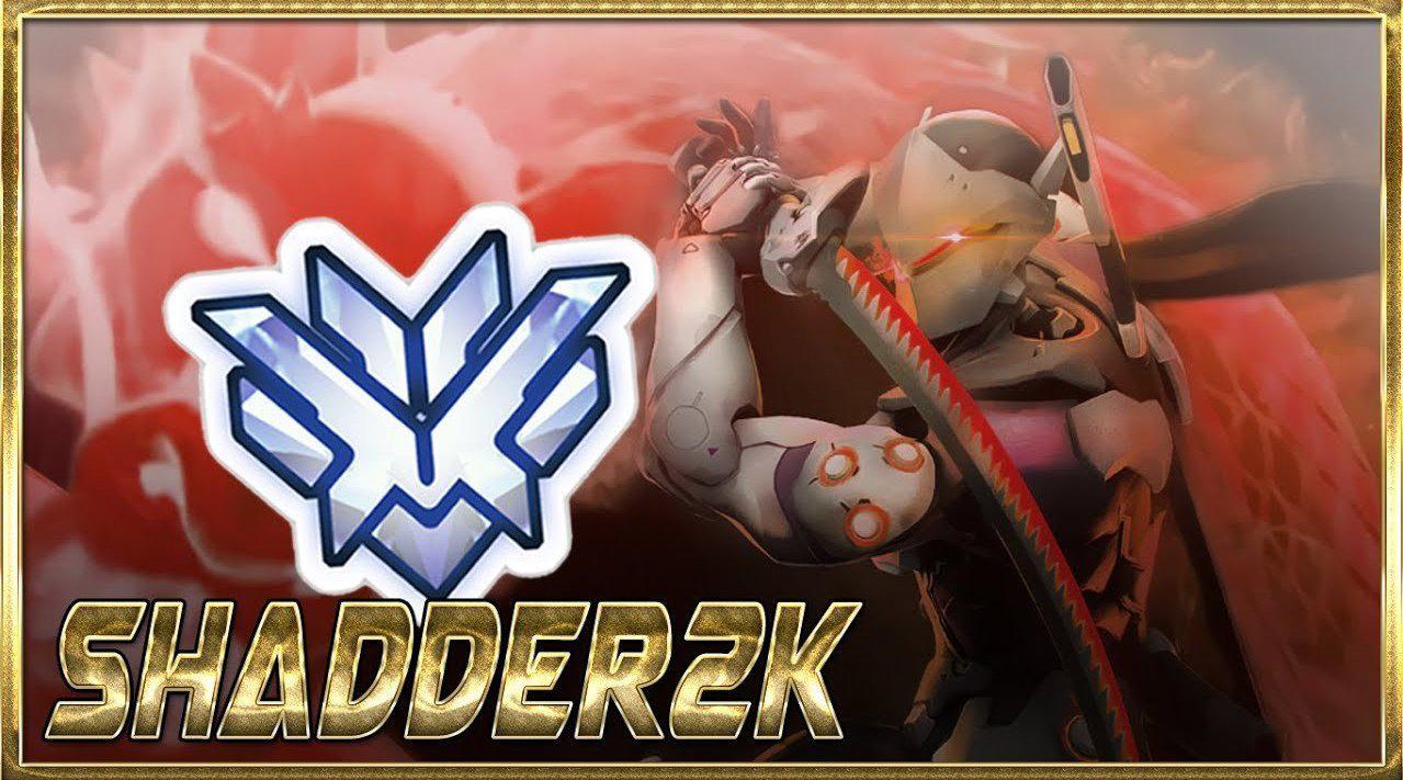 """守望先锋源氏大神""""SHADDER2K""""精彩集锦"""