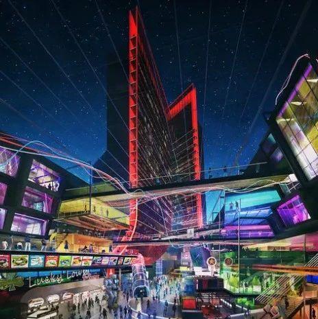 """雅达利公布了旗下""""游戏主题酒店""""的最新概念图"""