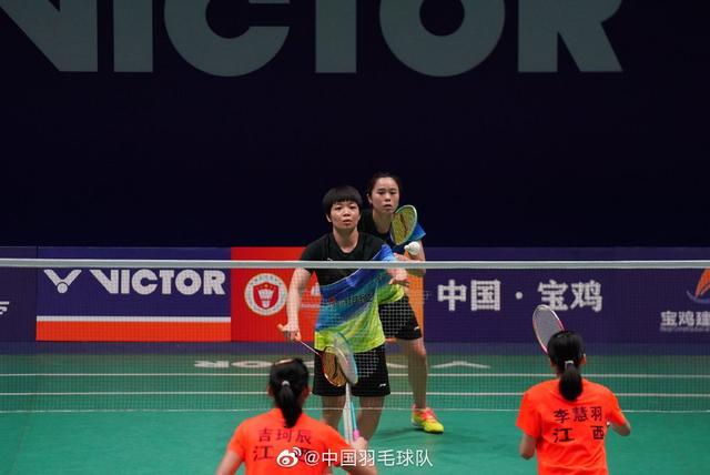 国羽世界第一携手新搭档轻松横扫对手,竟约贾一凡会师决赛