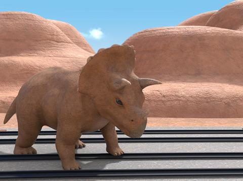 史前生物惊现卡卡山谷,《超级车车队》为何有恐龙?