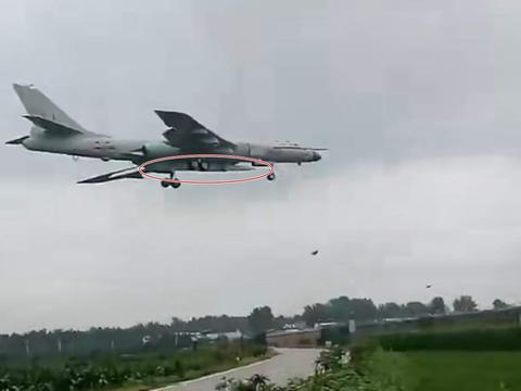 美媒:轰6携带东风-21D空射版,对航母造成新威胁