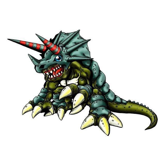 数码宝贝:力量超强的完全体,曾压制机甲龙兽,再进化是恐龙王者