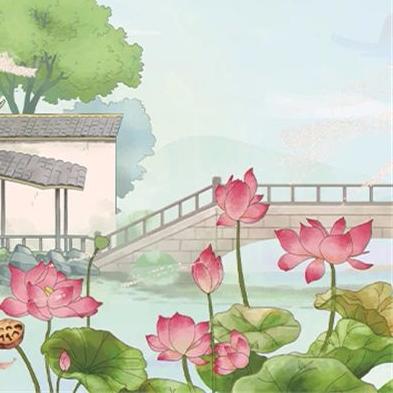 宋代文学·周敦颐《爱莲说》丨中华经典