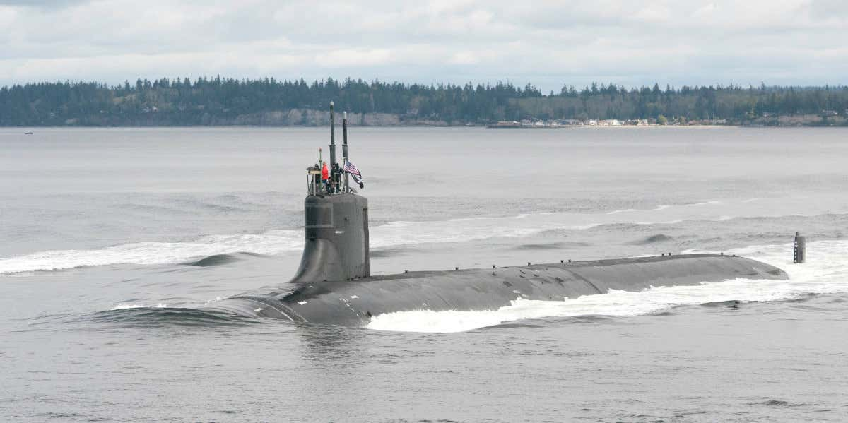 """对标""""海狼""""的水下巨兽,美海军下代攻击型核潜艇更大更强"""