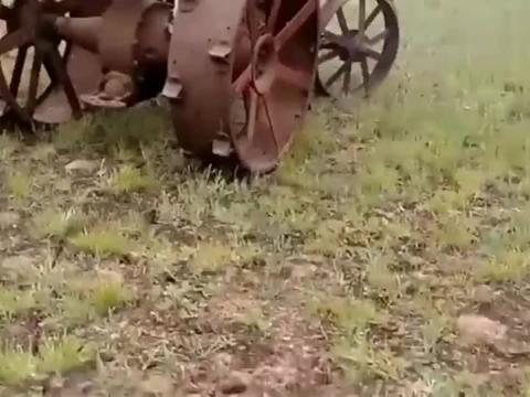 1918年福特森拖拉机,100年之后还能开走,以前的机器质量真好