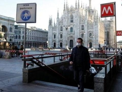 意大利日增确诊37809例 伦巴第放弃无症患者追踪