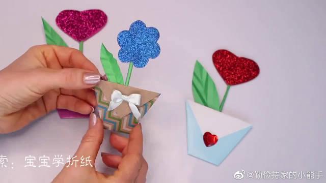 迷人的折纸花装饰怎么做?简单折纸大全,很快就学会!