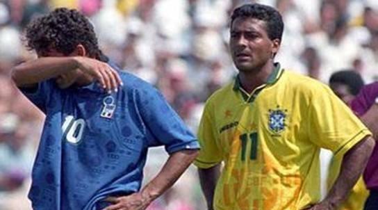 平心而论,1994年美国世界杯的罗马里奥和巴乔谁表现更出色?