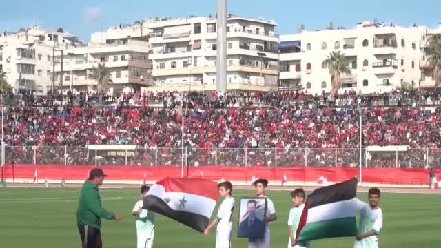 10年来第一场足球比赛!叙利亚阿勒颇球场战后重生