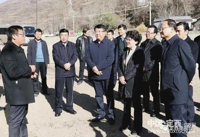 张永霞王钧赴岷县对接灾后恢复重建工作 现场捐赠援建资金1368万元