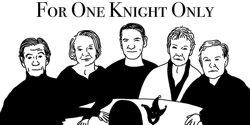 朱迪·丹奇、伊恩·麦克莱恩等五位演员为戏剧慈善组织筹款