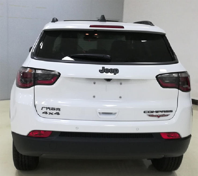 曝新款Jeep指南者申报图 广州车展首发