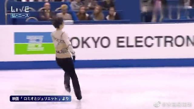 花样滑冰:羽生结弦,世界花样滑冰锦标赛,长节目自由滑很帅!