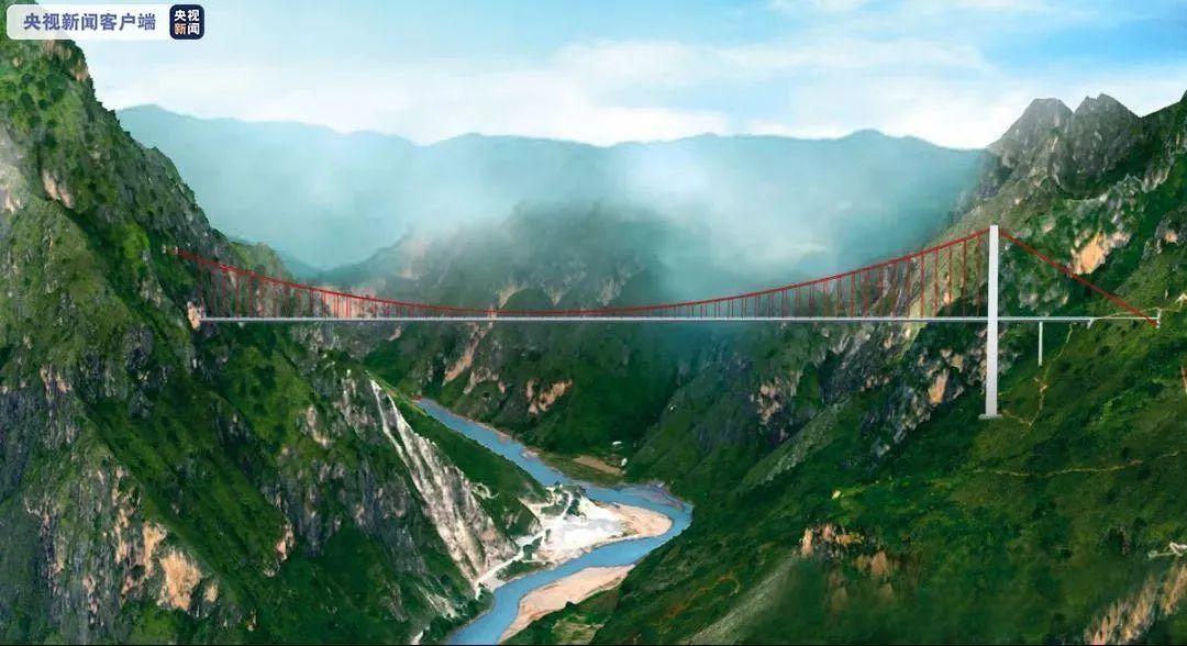 云南这座大桥将创三项世界纪录!此外,还有这些好消息…图片