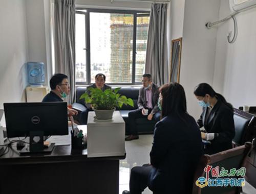 赣南医学院领导带队来宜春市人民医院检查实习(图)