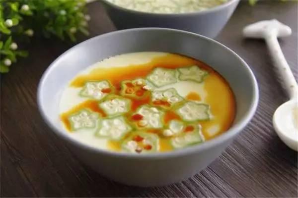 美食精选:辣炒大肠、香菇玉米鸡肉粥、虾米炖蛋、秋葵蒸蛋