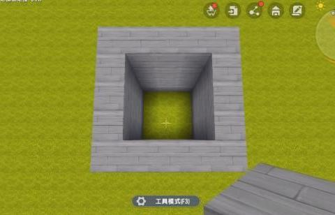 《迷你世界》教你做一扇最酷的门:隐形门!
