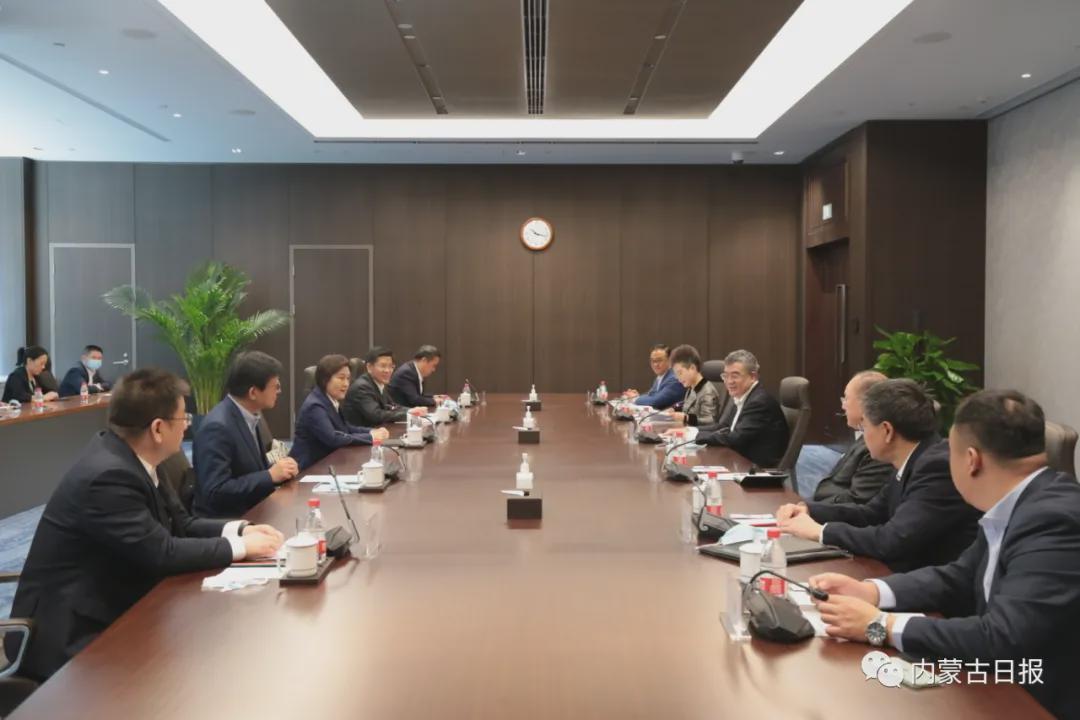 自治区政府与中信集团在京签署战略合作框架协议 布小林 朱鹤新 奚国华见证签约