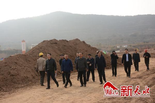王振宇调研督查包抓项目建设情况