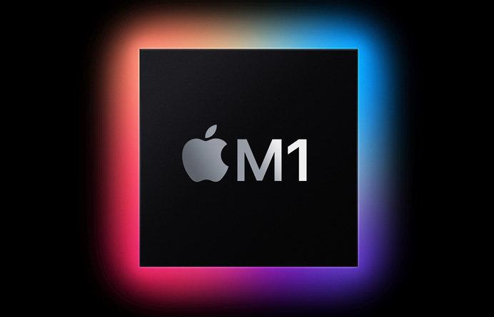 苹果 M1 跑分曝光:远超 iOS 设备,对标 i9-9900K