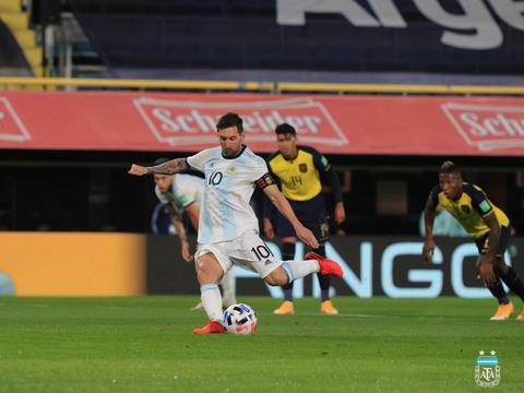 梅西进球被吹+中楣,阿根廷1-1巴拉圭 后防线只认识奥塔门迪