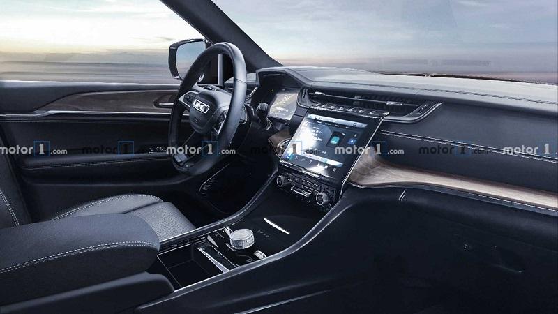 成熟稳重 Jeep全新大切诺基渲染图曝光 新车将于11月17日发布