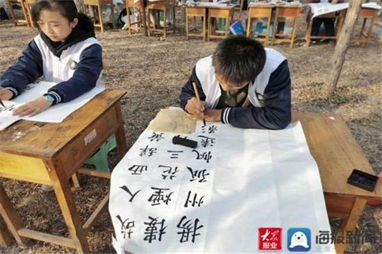 """翰墨飘香 金石华彩 2020年第二十二届""""百灵""""艺术节书画篆刻比赛举办"""