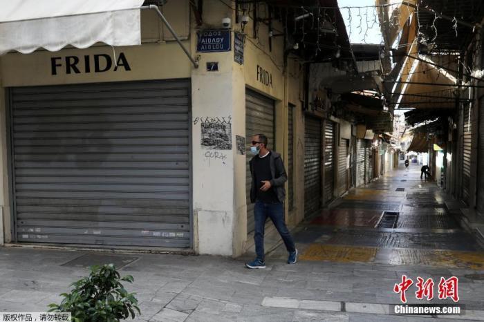 希腊530名警员确诊新冠 全国半数监狱出现疫情