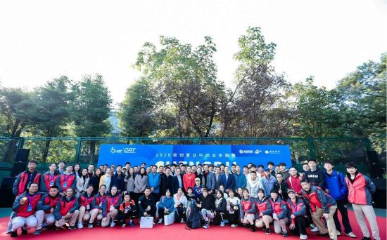 王蔷段莹莹携手助阵2020首创置业中网业余联赛成都站完美收官