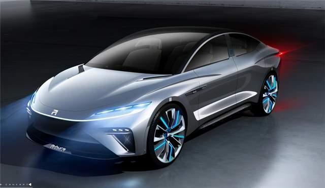 上汽荣威全新旗舰概念车极光号,将于广州车展首发