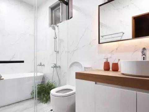 浴室干湿分离设计很流行 但这几点要注意