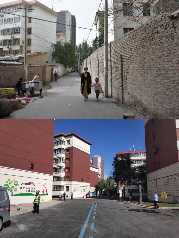 """新疆阿克苏市:老旧小区换上""""新衣裳"""",居民生活""""靓""""起来了"""
